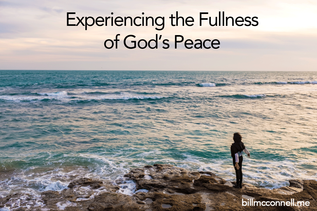 Fullness of God's Peace